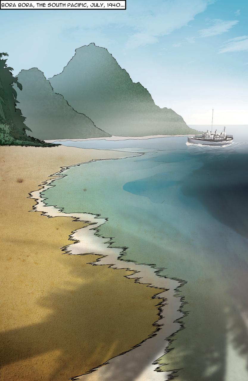 Island Girls Comic Page 1