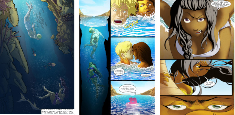 Island Girls sample pages